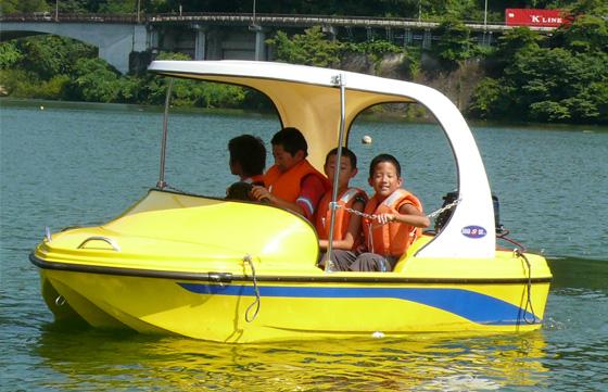 免許不要のモーターボート